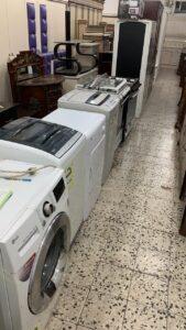 غسالة وثلاجة مستعملة - محل اثاث مستعمل