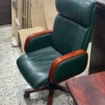 office boss chair black brown relaxation