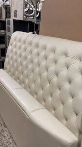 white designer bed